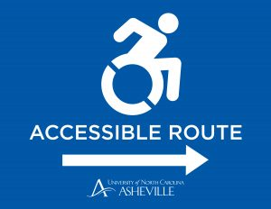 Accessible Route sign