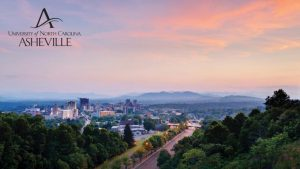 Zoom background Asheville skyline