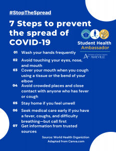 7 steps to prevent the spread of COVID